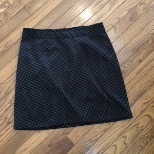 Athleta houndstooth winter skirt